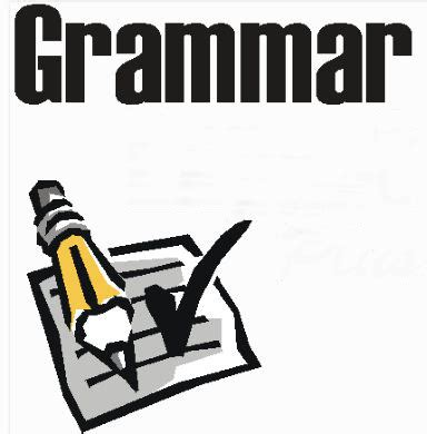 Grammar in essay writing